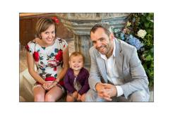 Dr Greg, Eilidh, and their daughter Breah