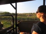 Liz enjoying the wilderness